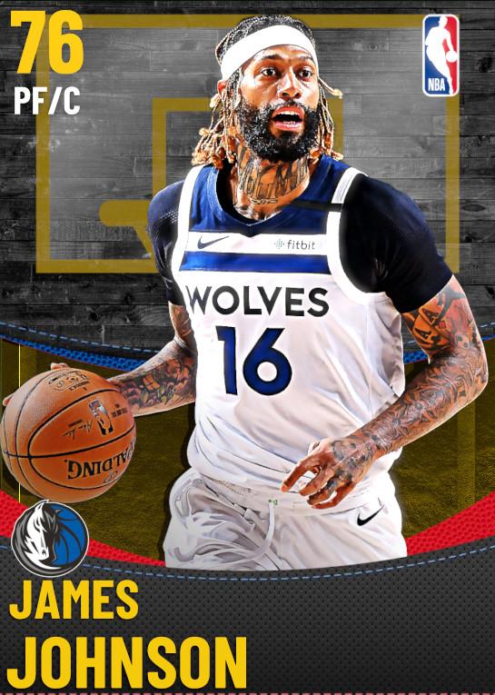 76 James Johnson | Dallas Mavericks