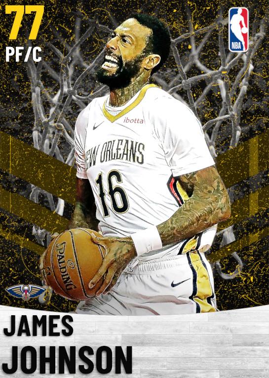 77 James Johnson   New Orleans Pelicans