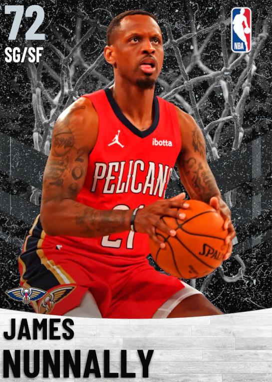 72 James Nunnally   New Orleans Pelicans