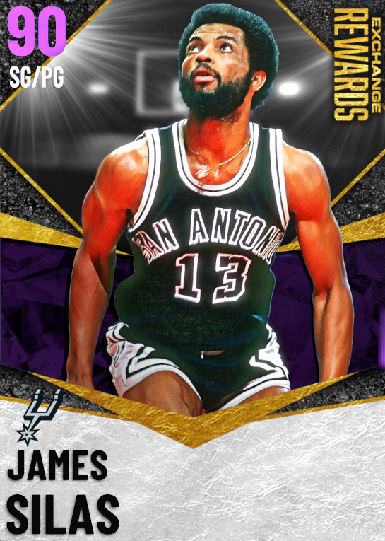 90 James Silas | undefined