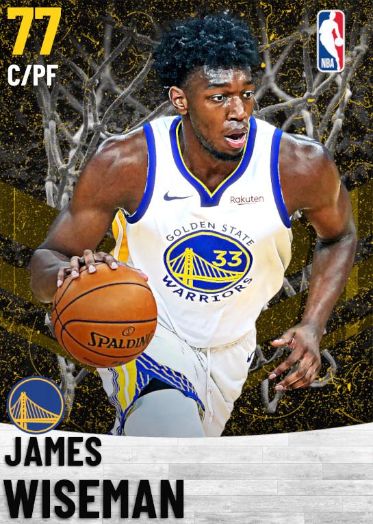 77 James Wiseman   Golden State Warriors