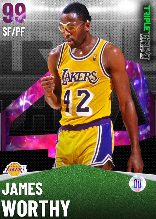 99_James Worthy_Triple Threat Spotlight Sim Reward