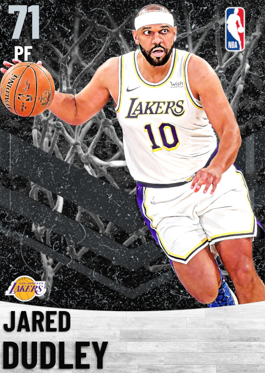 71 Jared Dudley   Los Angeles Lakers