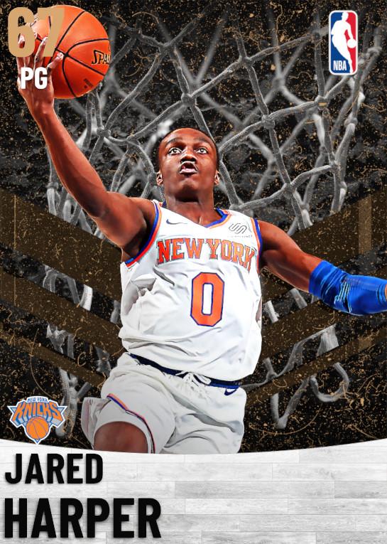 67 Jared Harper   New York Knicks