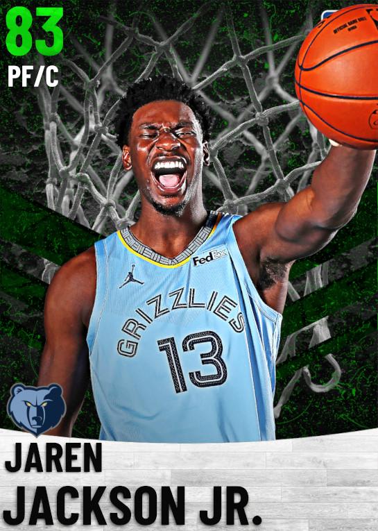 83 Jaren Jackson Jr.   Memphis Grizzlies