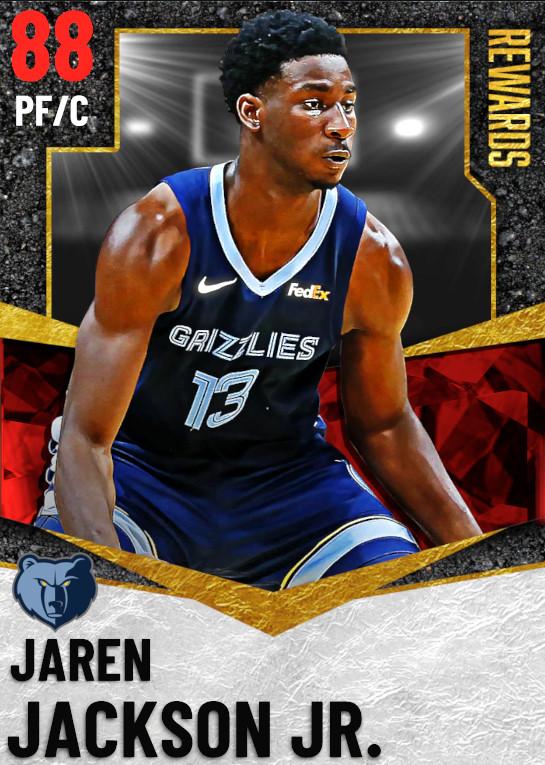 88 Jaren Jackson Jr.   Season 2 Rewards