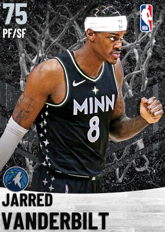 75 Jarred Vanderbilt   Minnesota Timberwolves