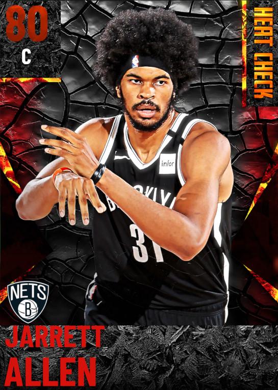 80 Jarrett Allen | Brooklyn Nets