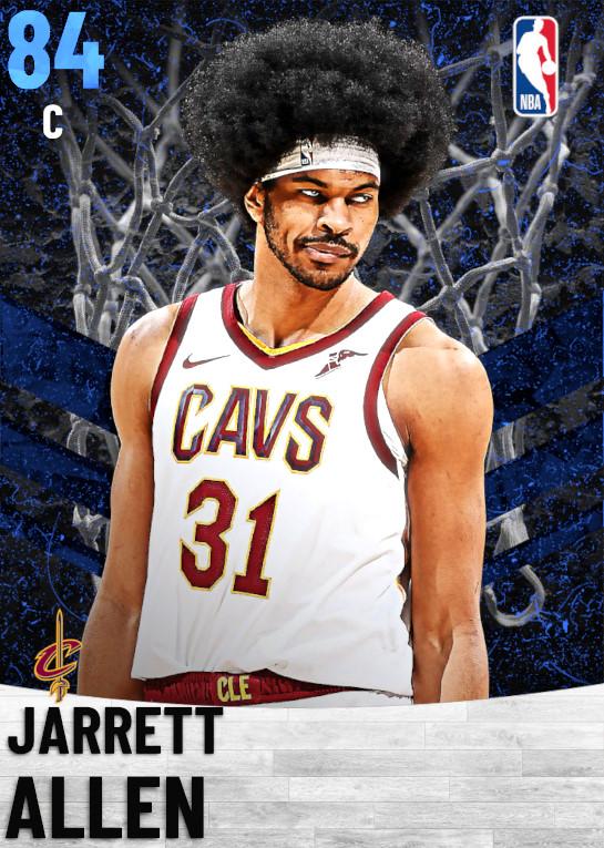 84 Jarrett Allen   Cleveland Cavaliers