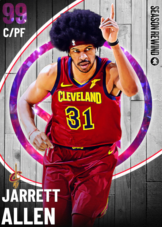 99 Jarrett Allen | Season Rewind