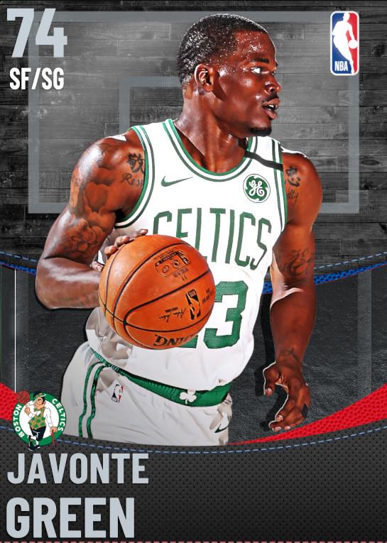 74 Javonte Green | Boston Celtics