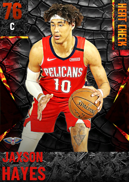 76 Jaxson Hayes | New Orleans Pelicans
