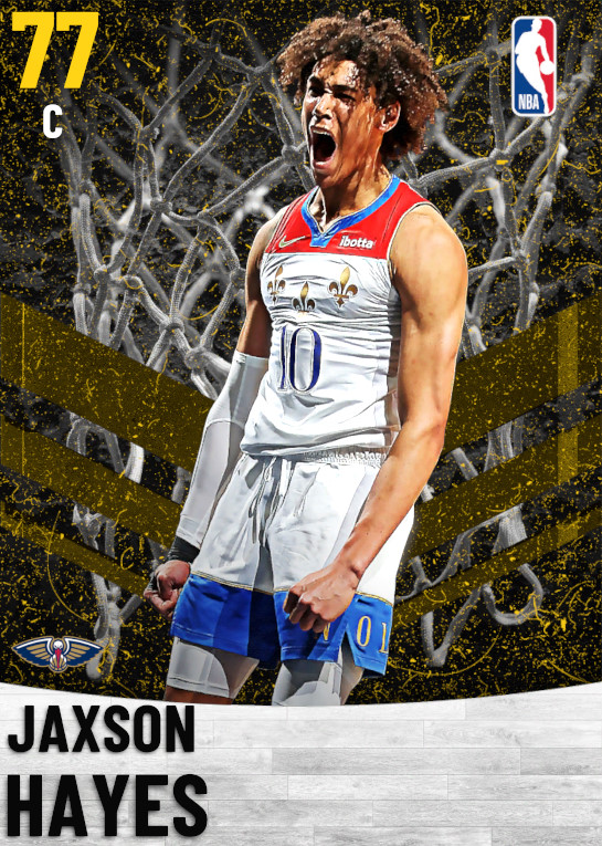 77 Jaxson Hayes   New Orleans Pelicans