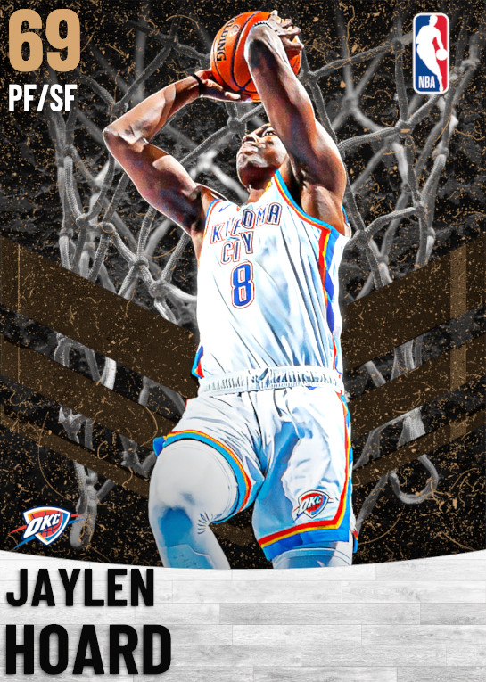 69 Jaylen Hoard   Oklahoma City Thunder
