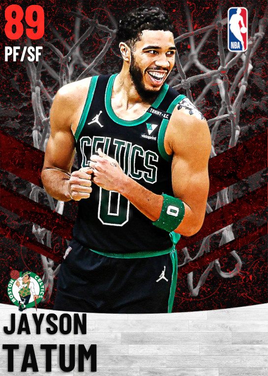 89 Jayson Tatum   Boston Celtics