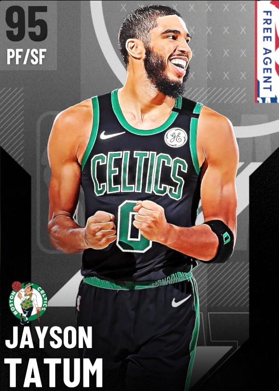 95 Jayson Tatum   undefined