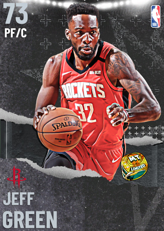 73 Jeff Green   undefined