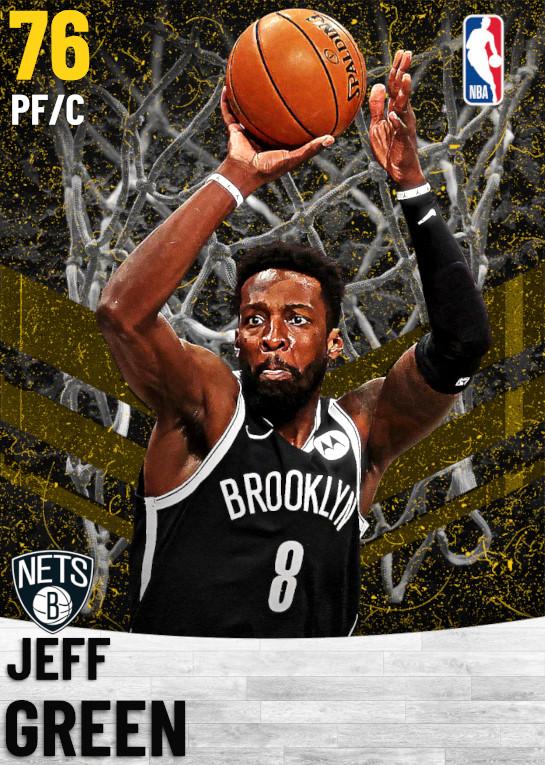 76 Jeff Green   Brooklyn Nets