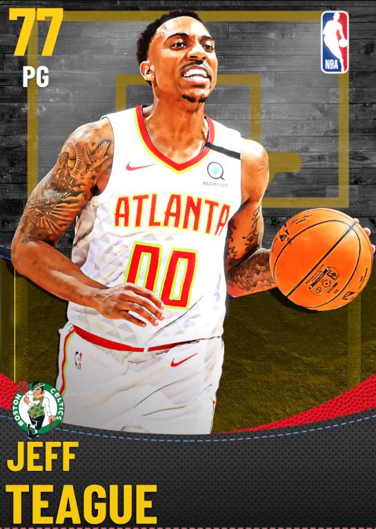 77 Jeff Teague | Boston Celtics