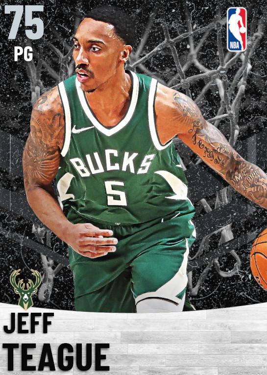 75 Jeff Teague   Milwaukee Bucks