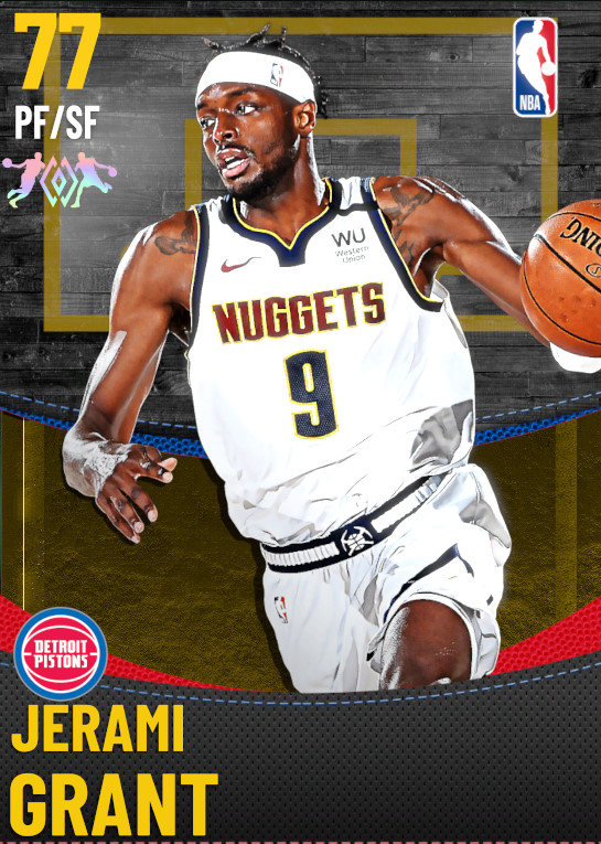 77 Jerami Grant | Detroit Pistons