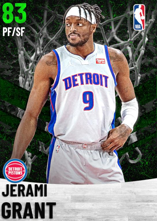83 Jerami Grant   Detroit Pistons