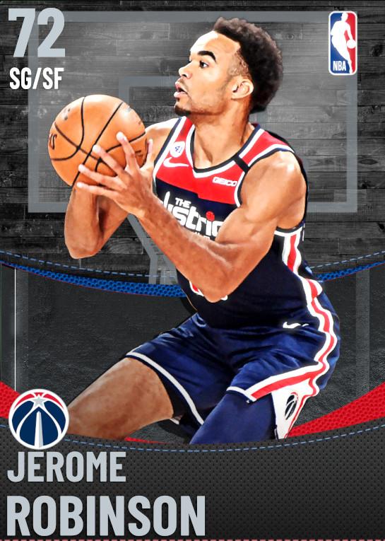 72 Jerome Robinson | Washington Wizards