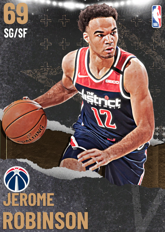 69 Jerome Robinson | undefined