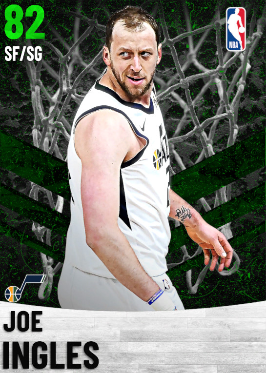 82 Joe Ingles   Utah Jazz