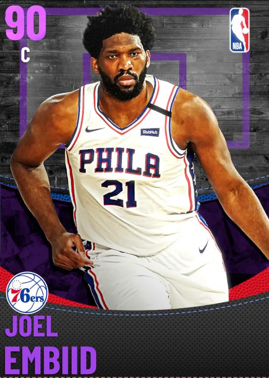 90 Joel Embiid | Philadelphia 76ers