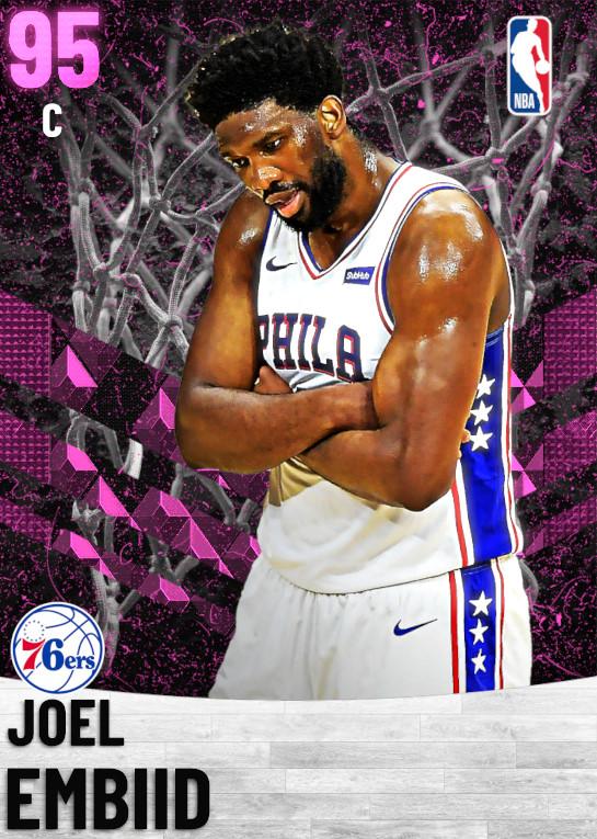 95 Joel Embiid   Philadelphia 76ers