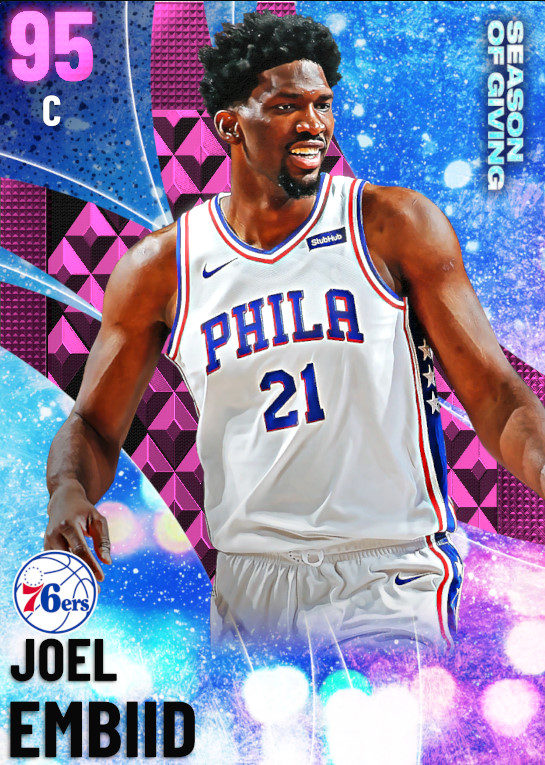 95 Joel Embiid | undefined