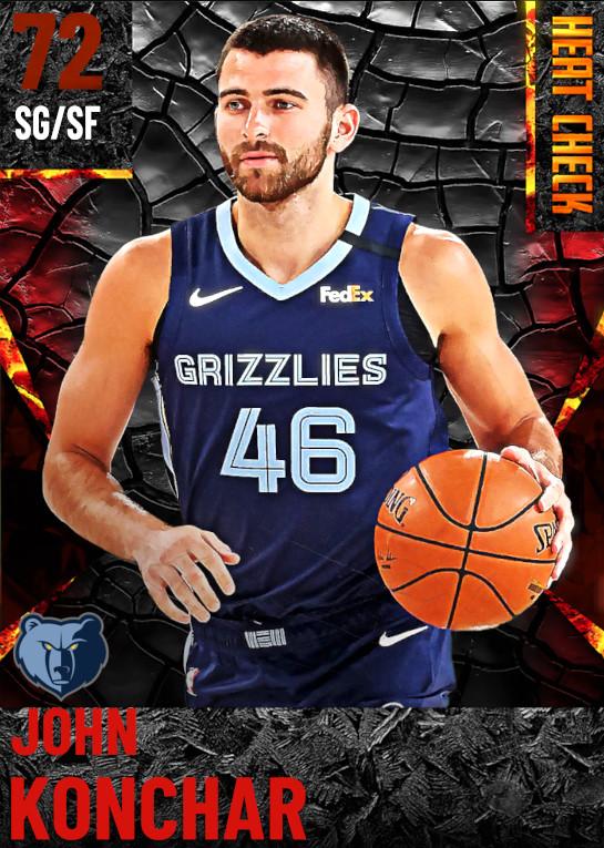 72 John Konchar | Memphis Grizzlies
