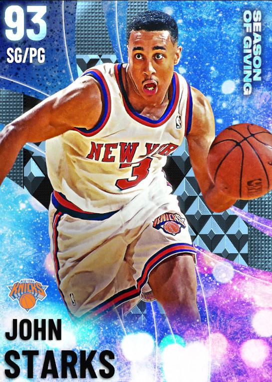 93 John Starks | undefined