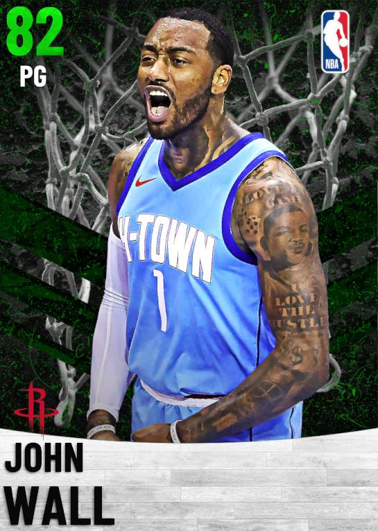 82 John Wall   Houston Rockets