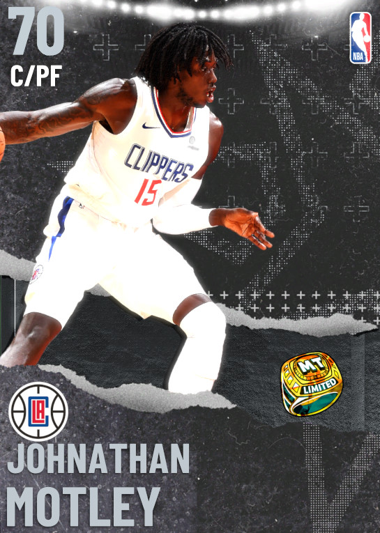 70 Johnathan Motley | undefined
