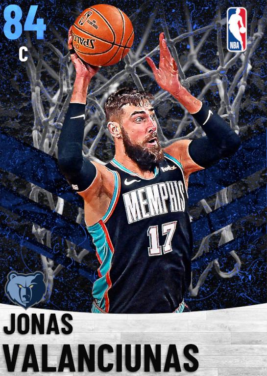 84 Jonas Valanciunas   Memphis Grizzlies