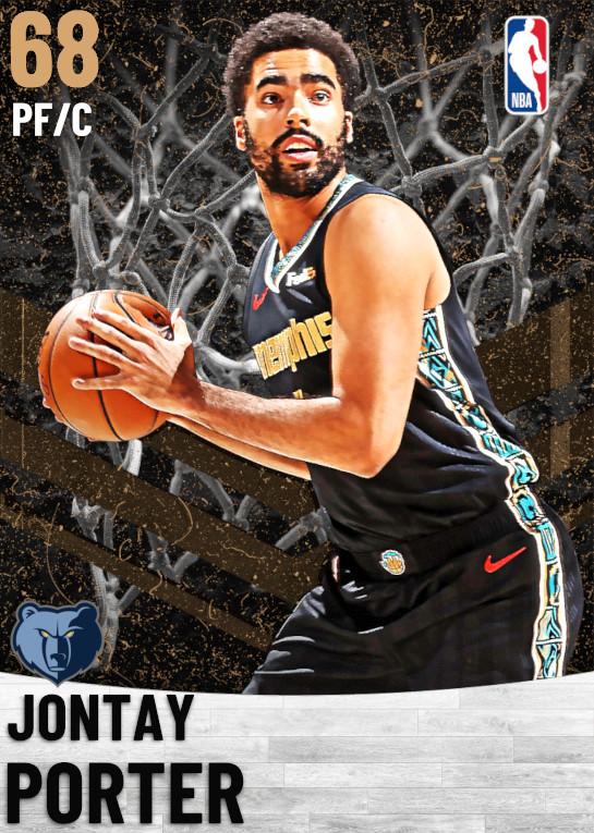 68 Jontay Porter   Memphis Grizzlies
