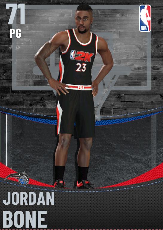 71 Jordan Bone | Orlando Magic