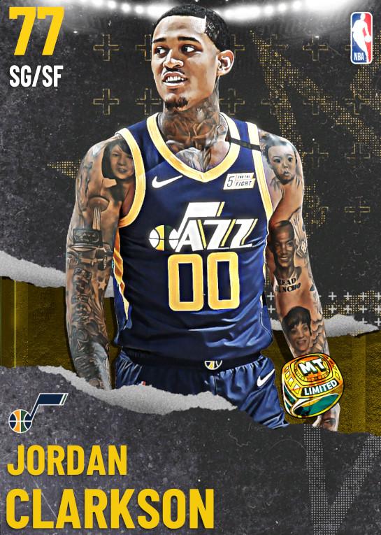 77 Jordan Clarkson | undefined