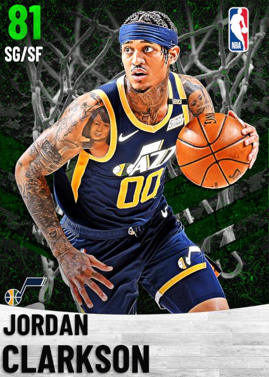 81 Jordan Clarkson   Utah Jazz