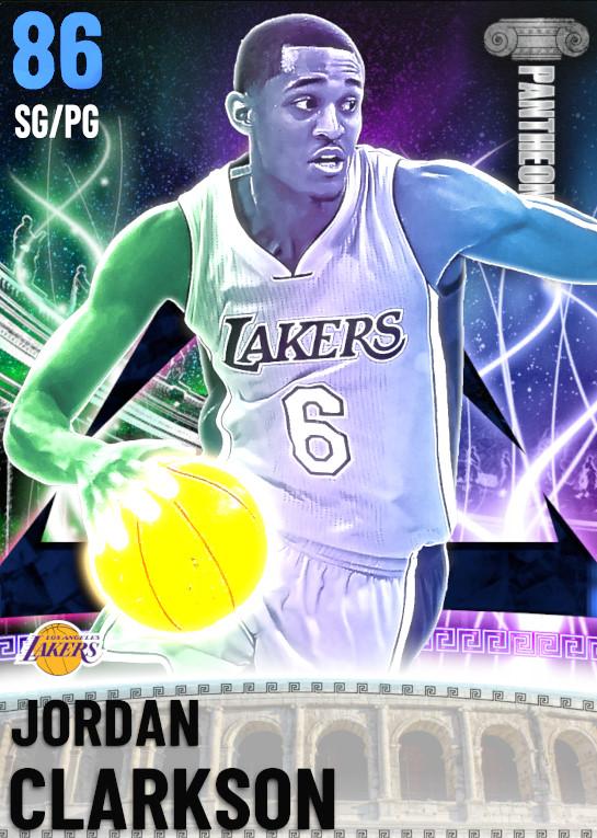 86 Jordan Clarkson | undefined