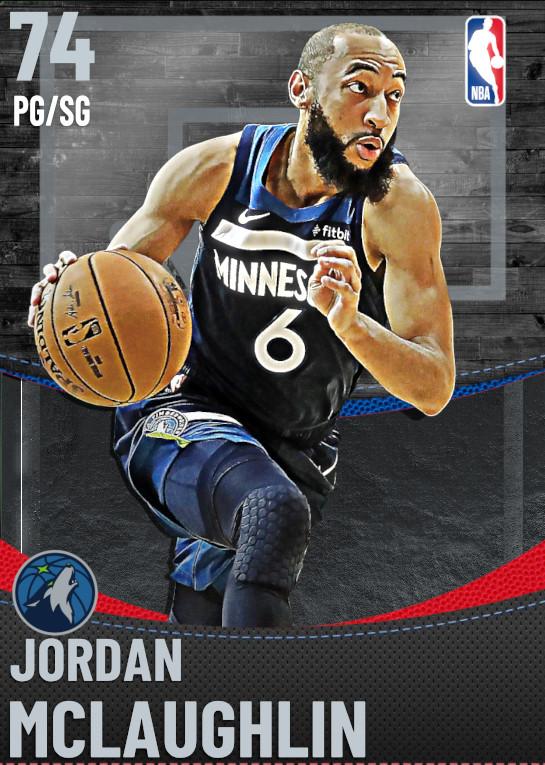 74 Jordan McLaughlin | undefined