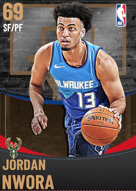 69 Jordan Nwora | Milwaukee Bucks