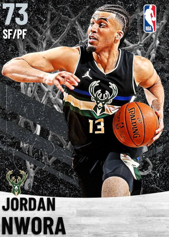 73 Jordan Nwora   Milwaukee Bucks