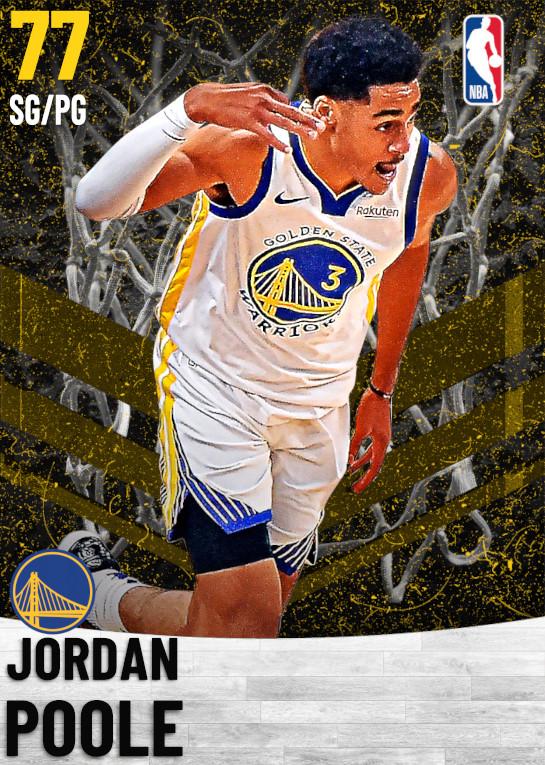77 Jordan Poole   Golden State Warriors