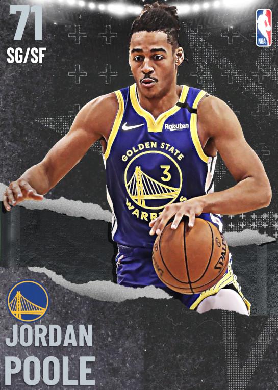 71 Jordan Poole | undefined