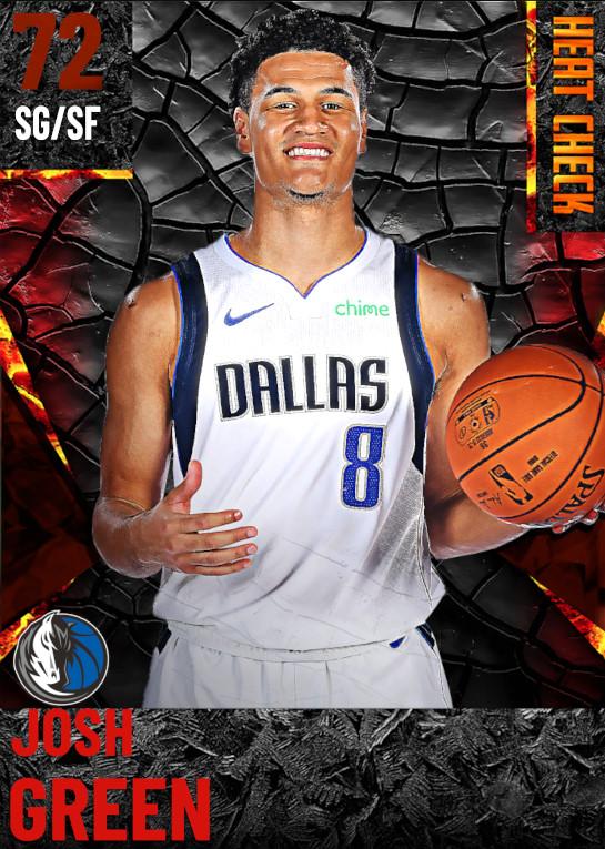 72 Josh Green | Dallas Mavericks
