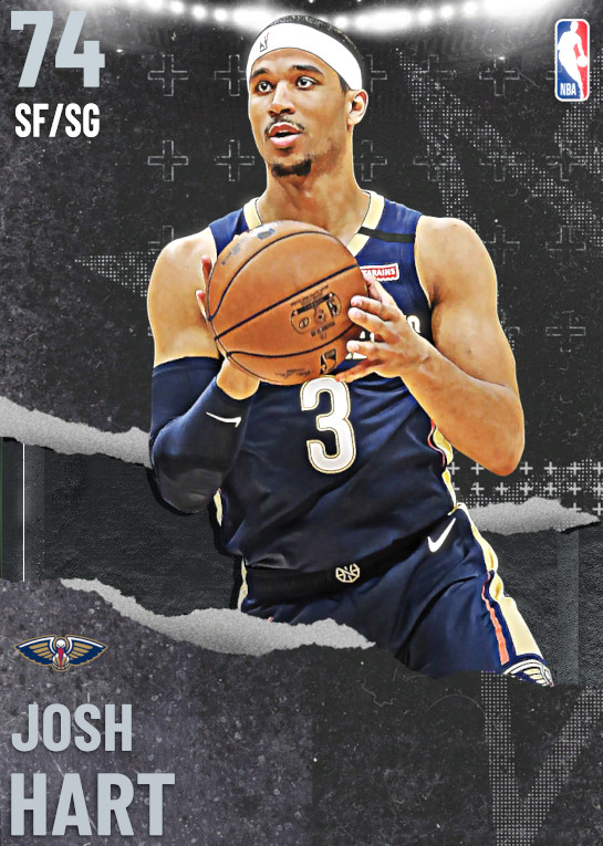 74 Josh Hart   undefined