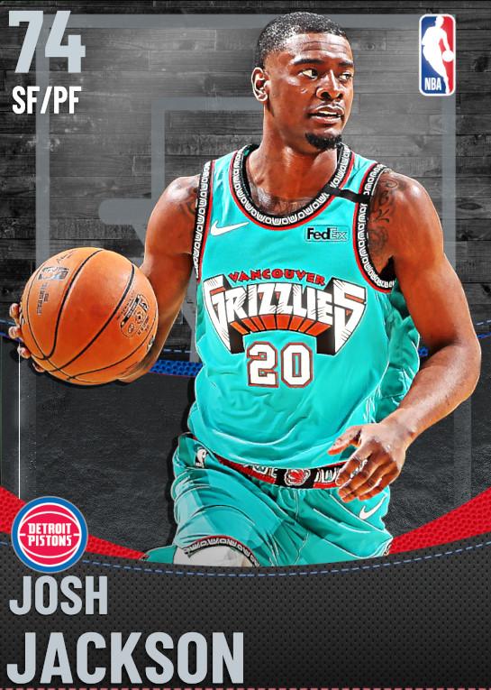 74 Josh Jackson | Detroit Pistons